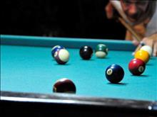 Amoudi Hotel Apartments: Billiard